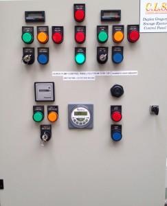 Duplex Control Panel With Backup Pump